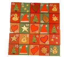 Calendario de Navidad. Manualidades para niños