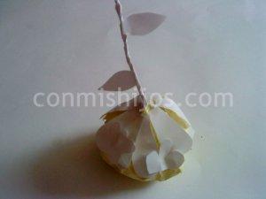 Bola de Navidad de papel para el árbol