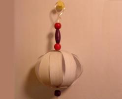 Bola de Navidad para el árbol. Manualidades infantiles