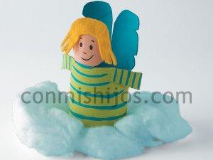 Angelito. Manualidades de Navidad para niños