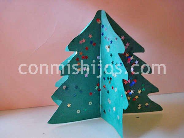 Juega con tus peques manualidad de navidad para ni os - Manualidad ninos navidad ...