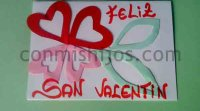 Manualidades: Tarjeta de San Valentín