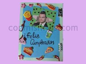 Tarjeta de cumpleaños. Manualidades de regalos para niños