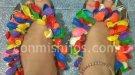Chanclas hawaianas, manualidad infantil para la piscina o la playa