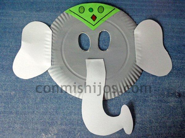 Mascara De Elefante Para Ninos