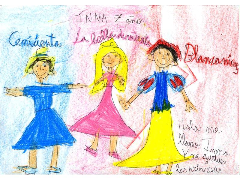 Inma Sánchez, 7 años: Dibujos para colorear