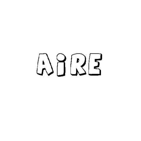 AIRE: Dibujos para colorear