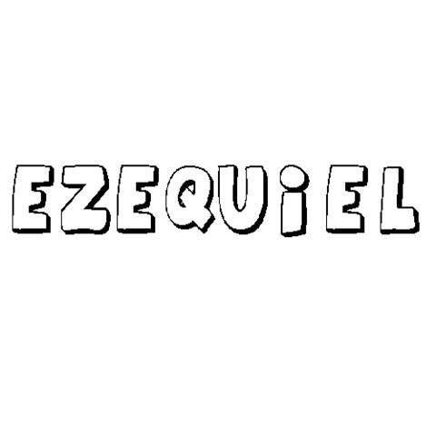 EZEQUIEL : Dibujos para colorear