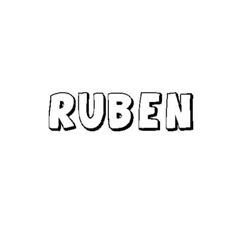 RUBÉN: Dibujos para colorear