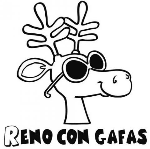 dibujo de renos: