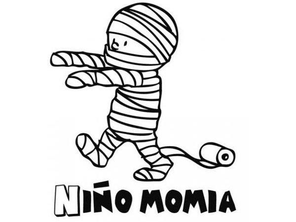 Momia para hijo