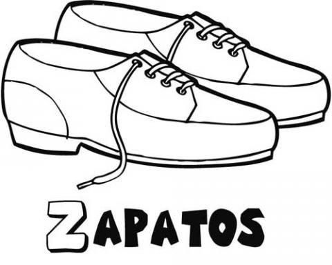 Dibujos Zapatos De Cordones