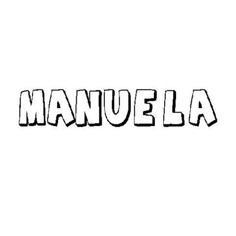 MANUELA: Dibujos para colorear