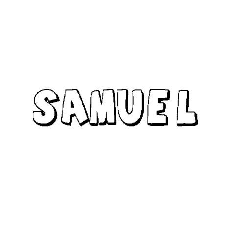 SAMUEL: Dibujos para colorear
