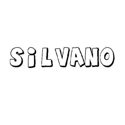 SILVANO: Dibujos para colorear