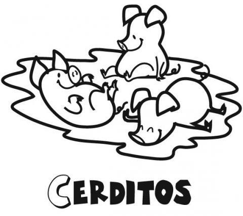 20 Dibujos Infantiles los Tres Cerditos | Imágenes Infantiles