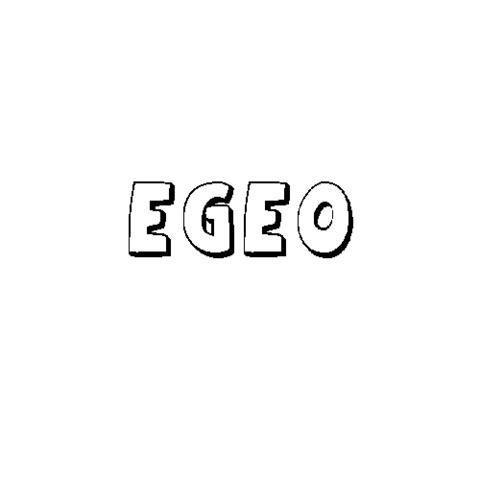 EGEO: Dibujos para colorear