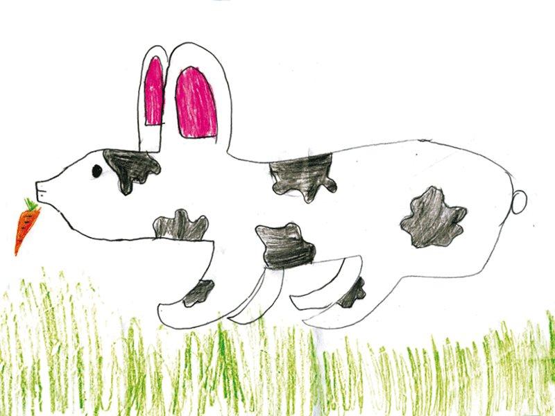 Blanca Gallostra, 7 años: Dibujos para colorear