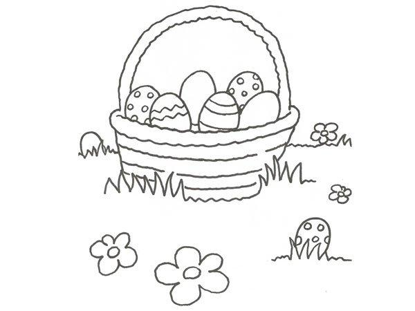 Dibujos Para Colorear De Huevos