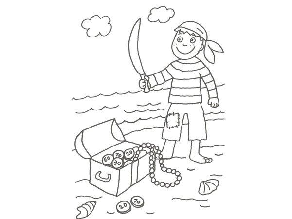 17640-4-dibujo-de-un-pirata-y- ...