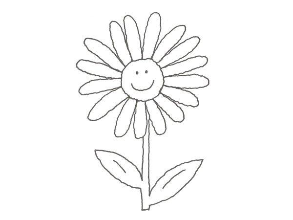 17649-4-dibujo-de-un-girasol- ...