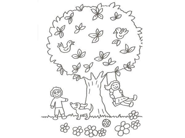 Dibujos para colorear como cuidar la naturaleza - Imagui