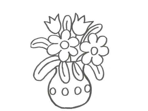17854-4-dibujo-de-un-florero- ...