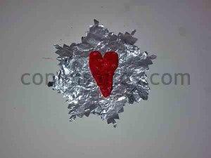 Corazones de pasta de sal. Manualidades de San Valentín