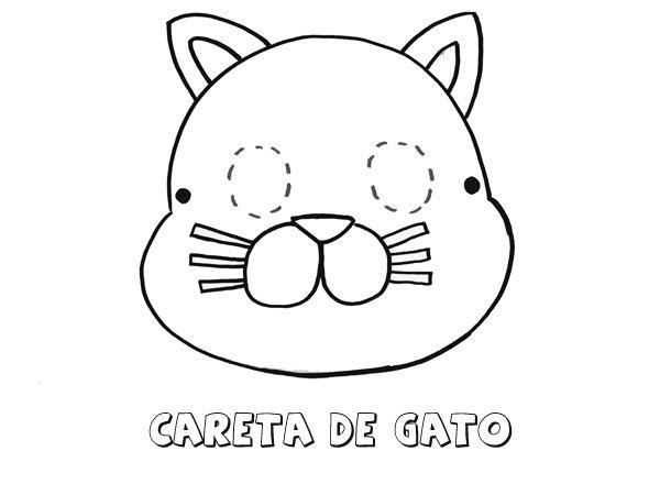 18107-4-careta-de-gato-dibujos ...