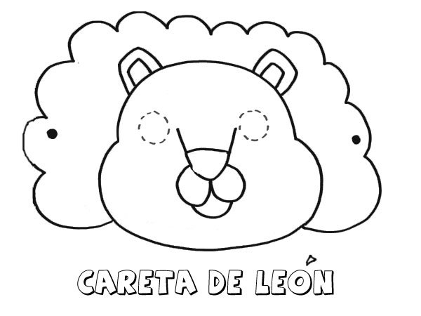 Dibujos de leones de bebés para colorear - Imagui