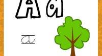 Escribir la letra A