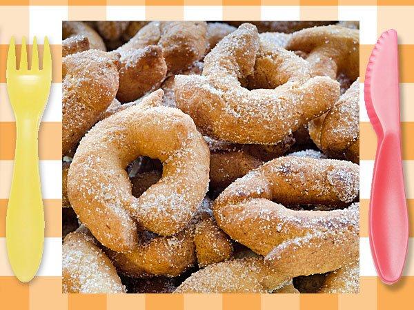 Rosquillas fritas postre tradicional para ni os - Postres para ninos faciles ...