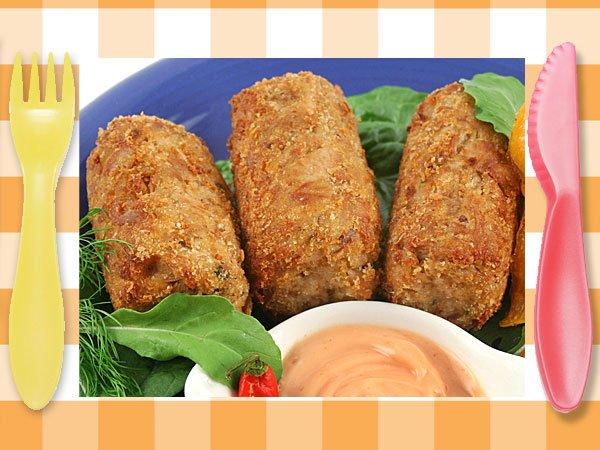 Croquetas de merluza recetas de pescado para ni os for Cocinar pescado para ninos