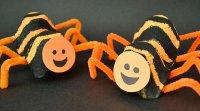Vídeo de manualidades de Halloween: Araña rayada