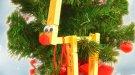 Manualidad de reno navideño