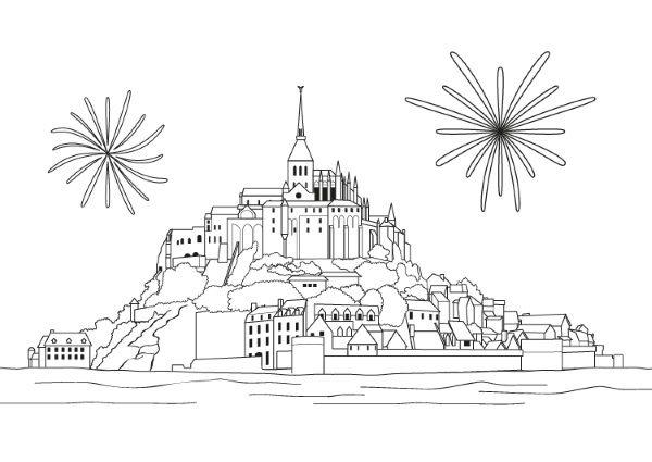 Dibujos De Juegos Pirotecnicos Para Colorear Imagui