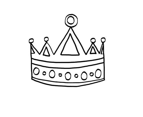 20045-4-una-corona-dibujo-para ...