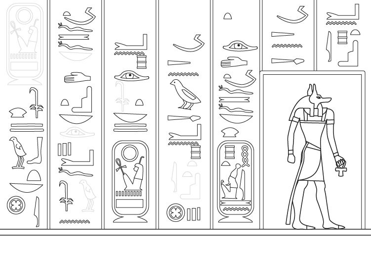 Ancient Egypt Coloring Pages #9
