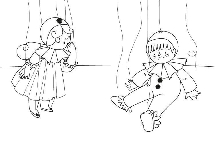 Marioneta Dibujo