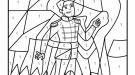 Dibujo mágico de un príncipe: dibujo para colorear e imprimir