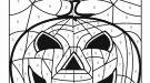Dibujo mágico de supercalabaza: dibujo para colorear e imprimir