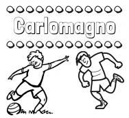 Dibujos Con El Nombre Carlomagno Para Colorear E Imprimir