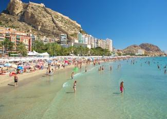 Ruta por las playas de Alicante