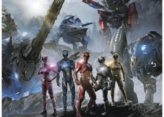 Cine: Powers Rangers