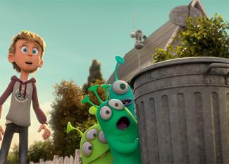 Cine: Luís y los alienígenas