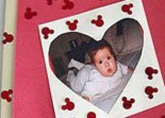 Tarjeta para el Día de la Madre. Manualidad en vídeo