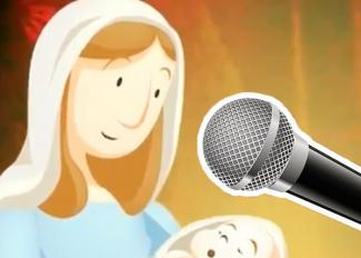 Villancico para cantar. Karaoke de Feliz Navidad