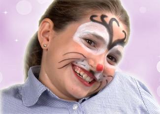 Vídeo de maquillaje de reno de Navidad para niños