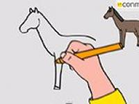 Cómo Dibujar Un Caballo Dibujos Para Niños