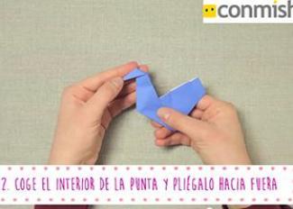 Cómo hacer un pavo real en Origami 3D